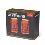Nordic Knit Pint Glass Set by Foster & Rye