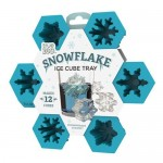Snowflake Silicone Ice Cube Tray by TrueZoo