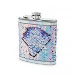 Splash: Mermaid Change Sequin Captive Flask by Blush®