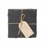 Square Slate Coasters by Twine®