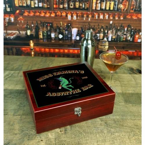 Absynthe Personalized Martini Set