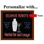 Bar Personalized Martini Set