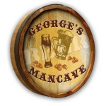 Beer Mancave Color Quarter Barrel