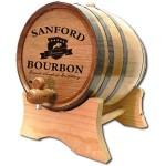 Bourbon Crest Custom Barrel