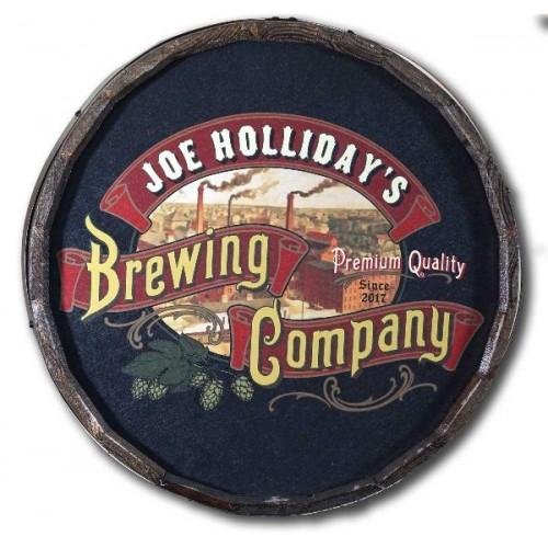 Brewing Co. Quarter Barrel W/ Relief