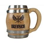 Brewskie Barrel Mug