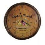 Chateau Quarter Barrel Clock