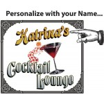 Cocktail Lounge Personalized Martini Set