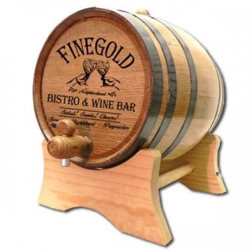 Finegold Wine Bar Custom Barrel