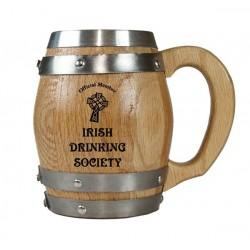 Irish Drinking Society Barrel Mug
