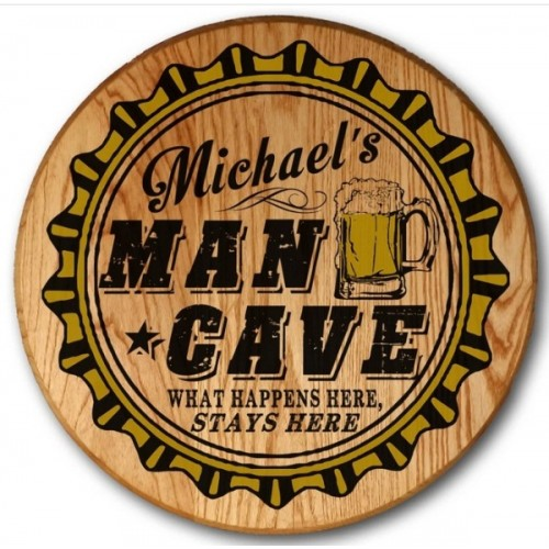 Man Cave Color Barrel Head