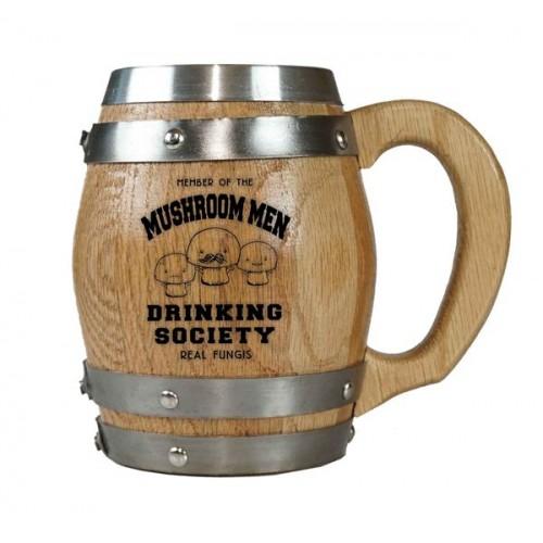 Mushroom Men Barrel Mug