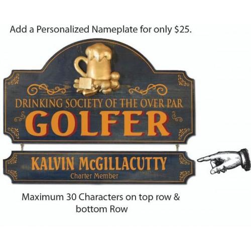 Over Par Golfer Ragtime