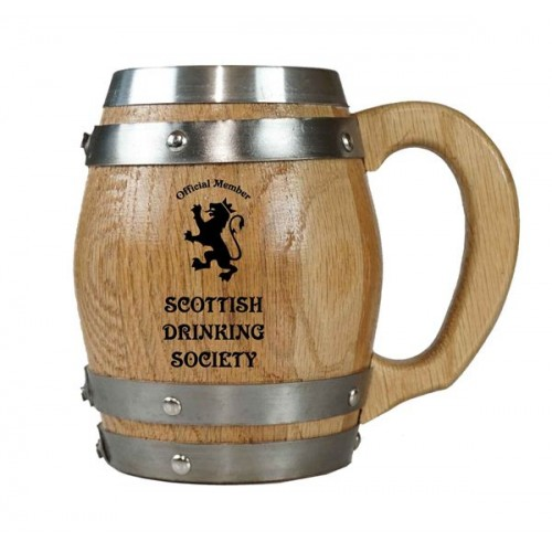 Scottish Drinking Society Barrel Mug