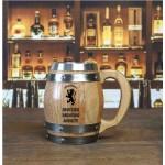 Scottish Drinking Society Barrel Mug