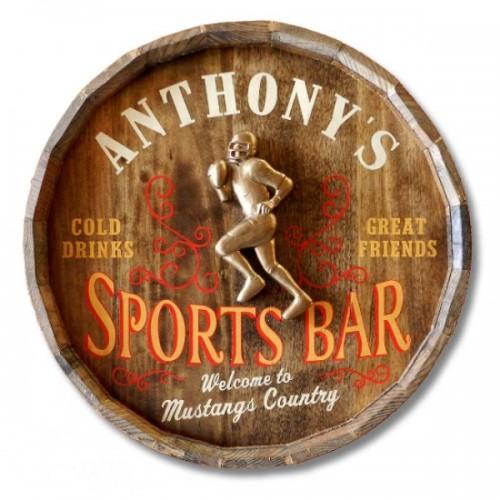 Sport's Bar Quarter Barrel W/ Relief