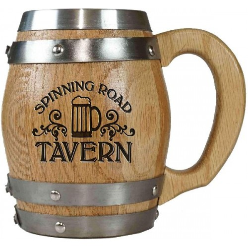 Tavern Personalized Barrel Mug