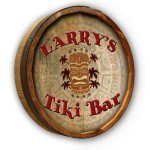 Tiki Bar Color Quarter Barrel