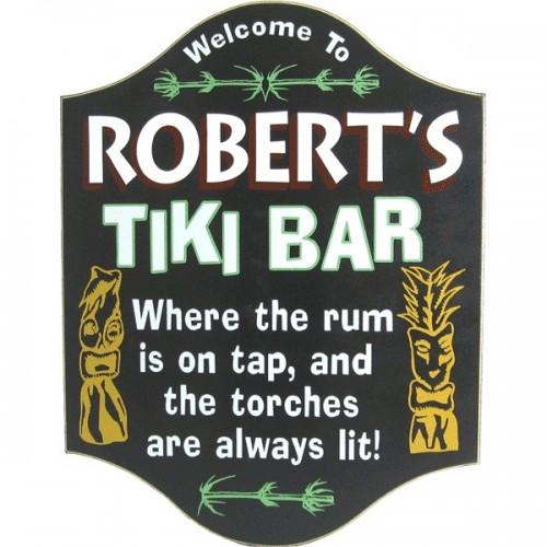 Tiki Bar Sign