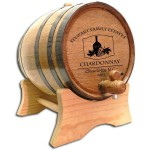 Wine Vase Custom Barrel