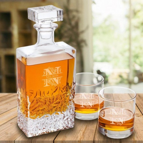 Kinsale 24 oz. Whiskey Decanter Set