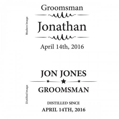 Personalized 12 oz. Groomsmen Sports Mug