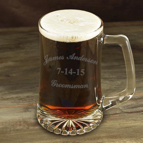 Personalized Groomsman 25 oz. Mug