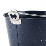 Blue Enamel Beer Bucket by Foster & Rye™