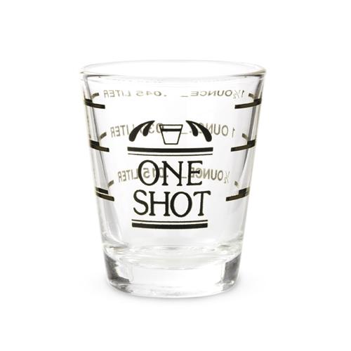 Bullseye: Measured Shot Glass
