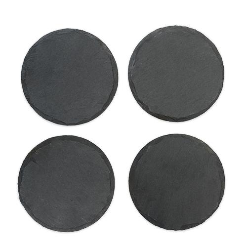 Circle Slate Coasters by Twine®