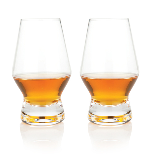 Footed Crystal Scotch Glasses by Viski®