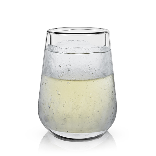Glacier™ Double-Walled Chilling Wine Glass by Viski®