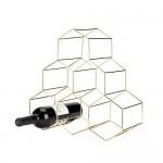 Gold Geo Wine Rack by Viski®