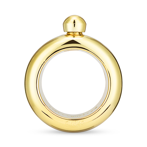 Gold Plastic Bangle Flask by Blush®