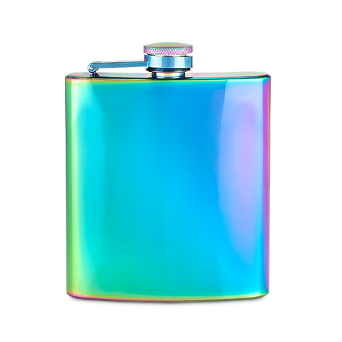 Mirage Iridescent Stainless Steel Flask by Blush®