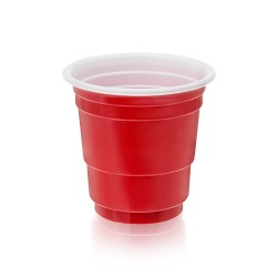 Set of 20 Red Shot Glasses by True