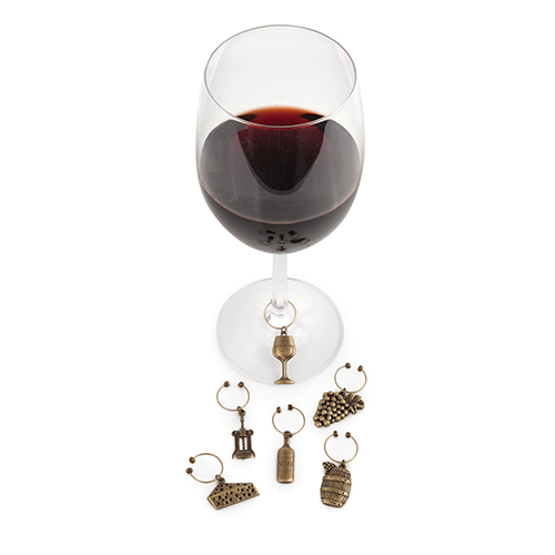 Vineyard Wine Charms by Twine®