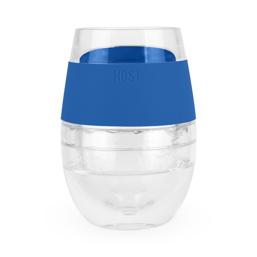 Wine FREEZE™ Cooling Cup in Blue (1 pack) by HOST®