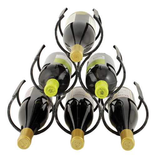 Wine Shrine Metal Bottle Holder by Twine®