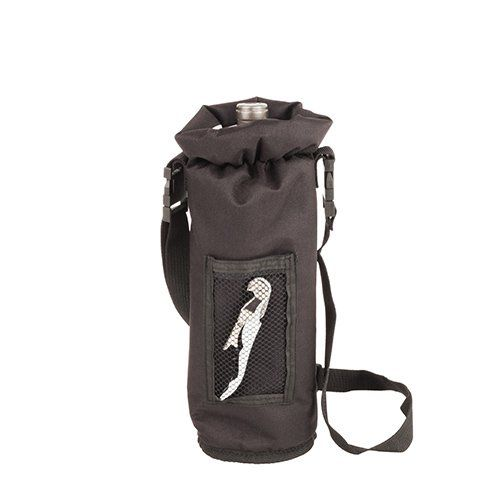 Black Grab & Go Insulated Bottle Carrier