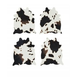 """Cowhide Coaster Set by Foster & Ryeâ""""¢"""