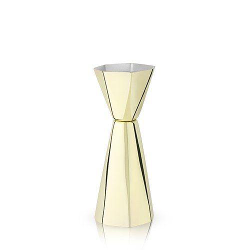 Faceted Gold Jigger by Viski®