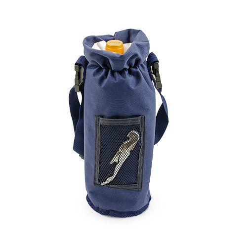 Grab & Go Insulated Bottle Carrier in Blue by True