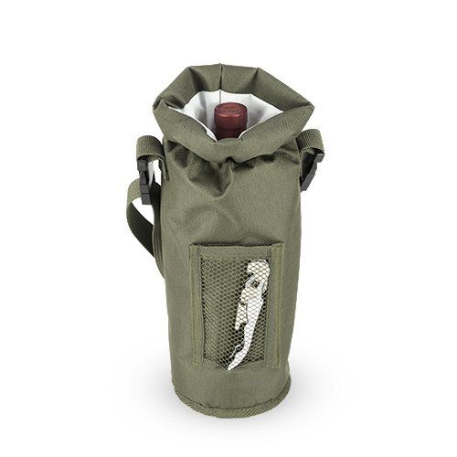 Grab & Go™: Insulated Bottle Carrier in Olive by True