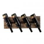 Metal and Wood Wine Rack by Twine®