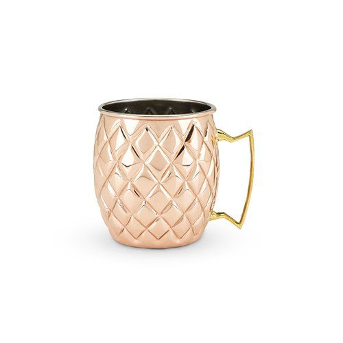 Old Kentucky Home: Copper Pineapple Mug by Twine