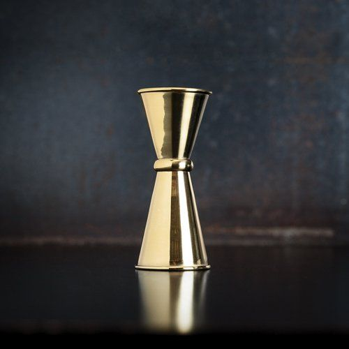 Small Gold Japanese Style Jigger by Viski®