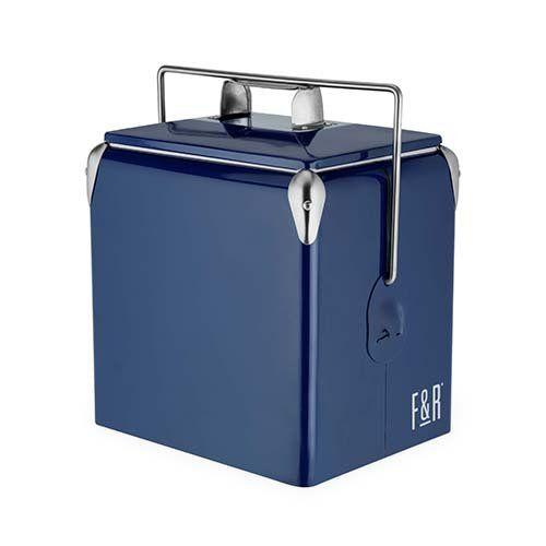 Vintage Metal Cooler by Foster & Rye™-Blue