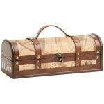 Bottle Old World Wooden Wine Box by Twine®