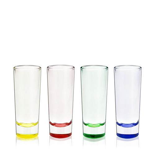 2 oz Shot Glass Shooters, Set of 4 by True